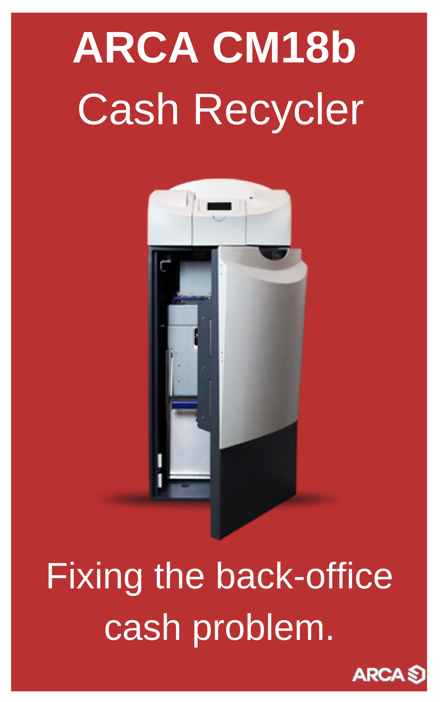 Brochure ARCA CM18b Recycleur de Billets
