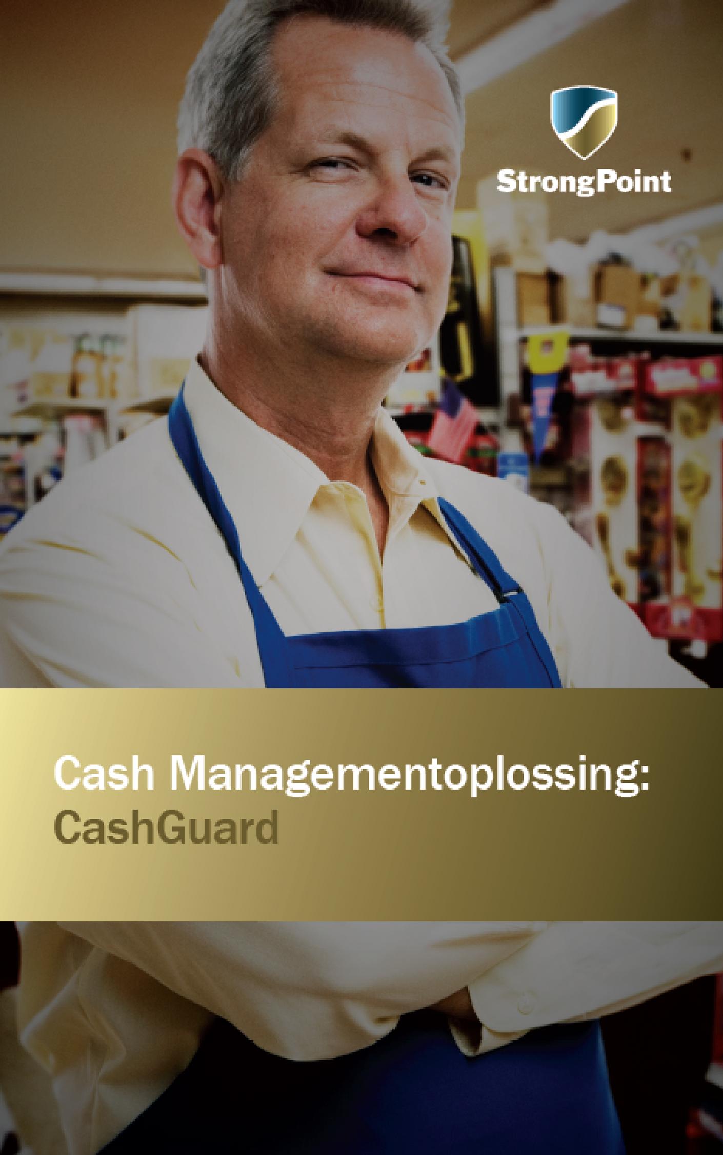 Photo: Brochure CashGuard - Solution de gestion d'espèces